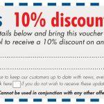 Blackpool show 10% voucher