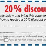 Epsom Show 20% discount voucher