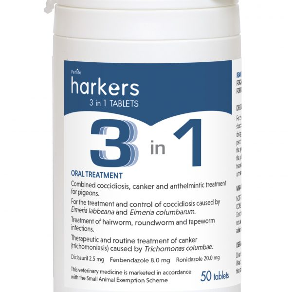 Harkers 3 in 1 Tablets