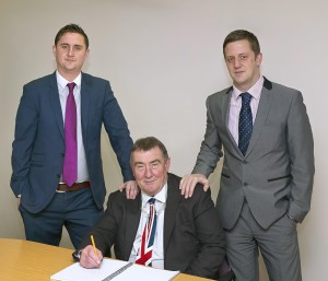 John, James and Tom
